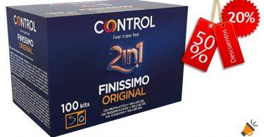 oferta Control 2in1 Finissimo Preservativos baratos SuperChollos