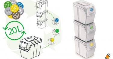 oferta Cubos de reciclaje Prosperplast baratos SuperChollos