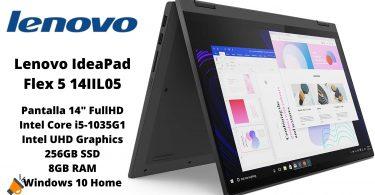 oferta Lenovo IdeaPad Flex 5 14IIL05 barato SuperChollos