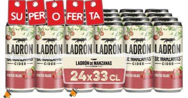 oferta Ladro%CC%81n de manzanas Cider frutos rojos barato SuperChollos