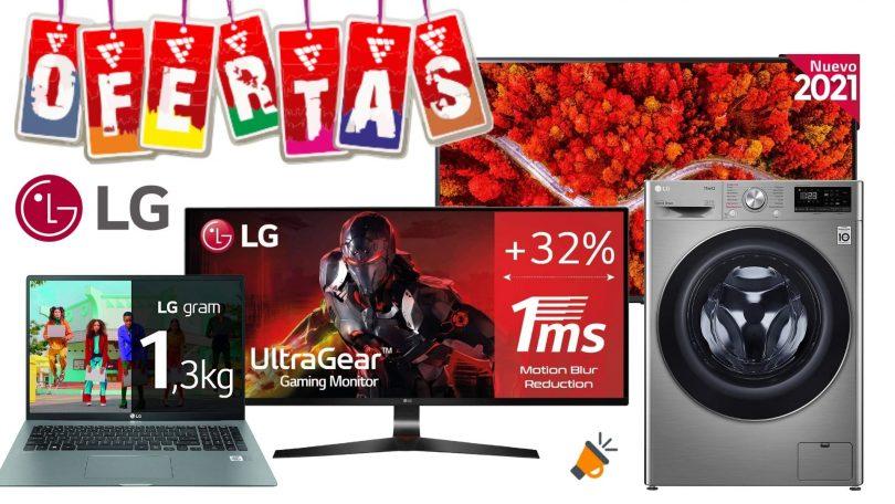 ofertas LG amazon SuperChollos