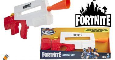 oferta Nerf Fortnite Super Soaker Burst barata SuperChollos