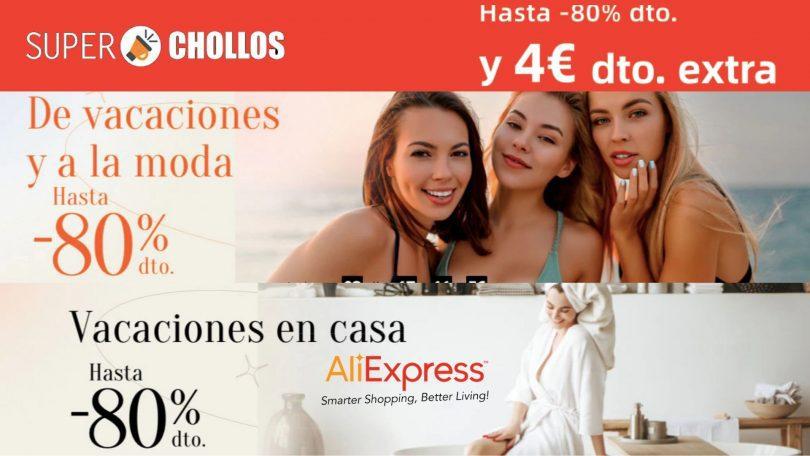 ofertas aliexpress moda hogar SuperChollos
