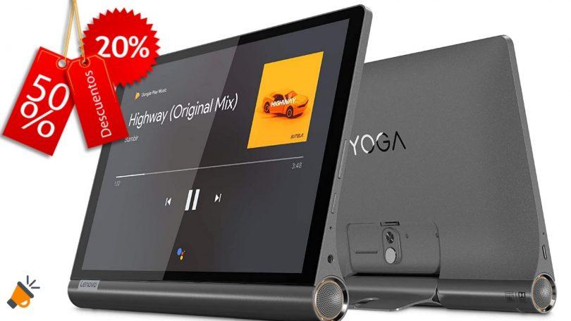 oferta Lenovo Yoga Smart Tab barata SuperChollos