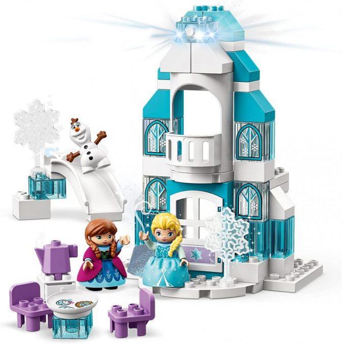 Castillo de Hielo Frozen LEGO Duplo barato scaled SuperChollos