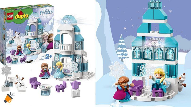 oferta Lego Castillo de Frozen barato SuperChollos