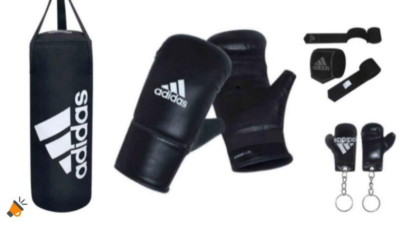 oferta Adidas set de boxeo barato SuperChollos