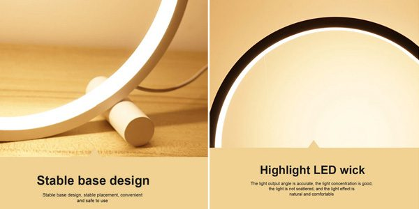 La%CC%81mpara LED circular Mabor barata SuperChollos