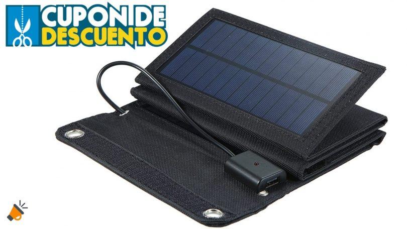 oferta Irishom Cargador Solar barato SuperChollos