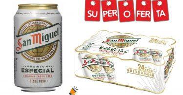 oferta cerveza san miguel barata SuperChollos
