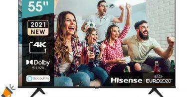oferta Hisense 55A6G barata SuperChollos