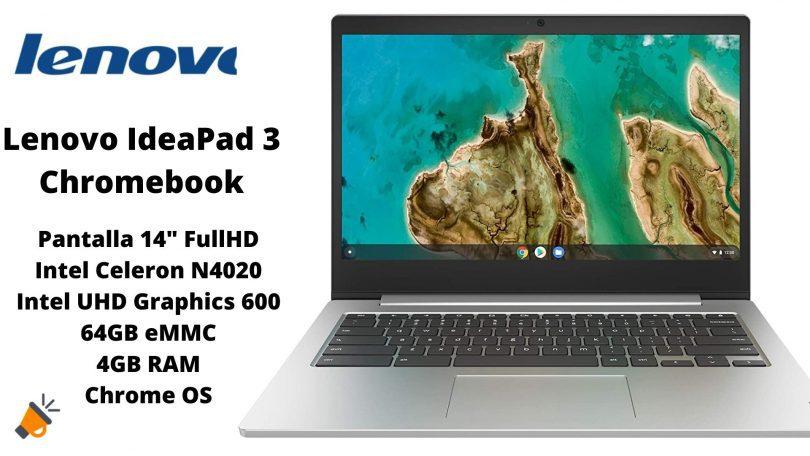 oferta Lenovo IdeaPad 3 Chromebook barato SuperChollos