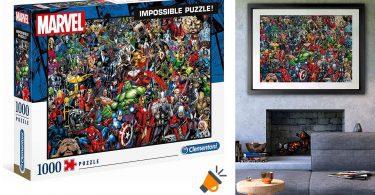 oferta marvel impossible puzzle barato SuperChollos