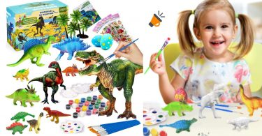oferta Kit pintura dinosaurios Joy joz barato 1 SuperChollos