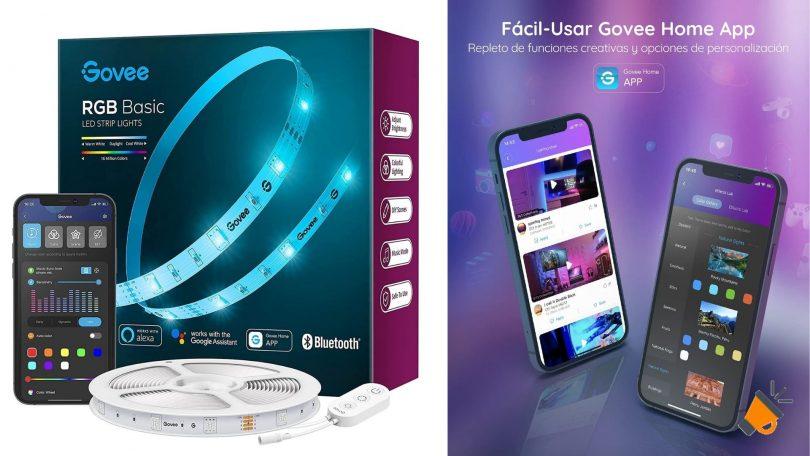 oferta tira led goove wifi barata SuperChollos