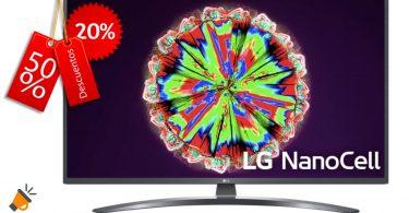 oferta LG 75NANO796 barata SuperChollos