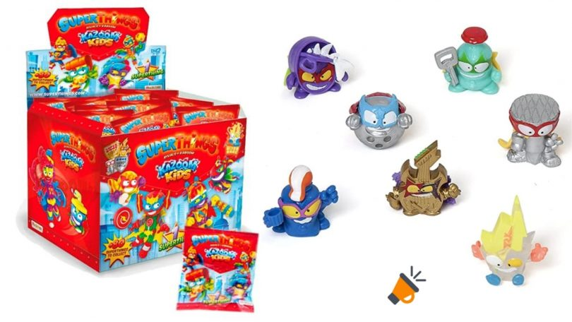 oferta sobres superthings serie 8 baratos SuperChollos