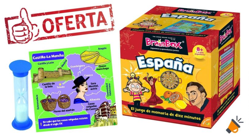 oferta BrainBox Espan%CC%83a barato SuperChollos