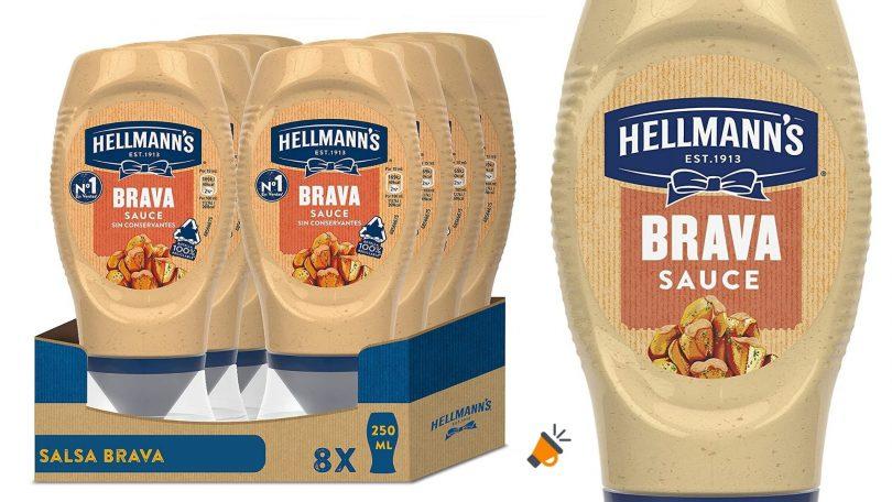 oferta Hellmanns Salsa Brava barata SuperChollos