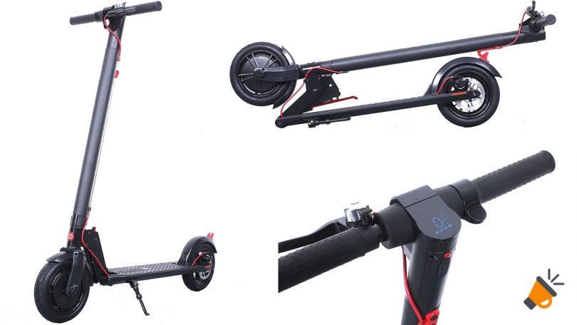 oferta patinete gotrax H853 NEGO barato SuperChollos
