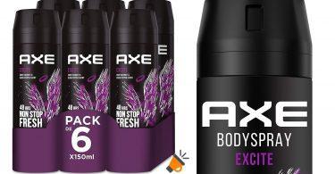 oferta Axe Excite Rock Desodorante barato SuperChollos