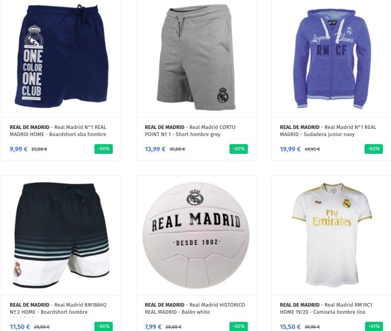 OUTLET REAL MADRID1 SuperChollos