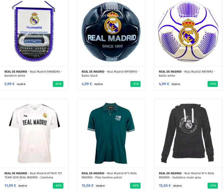 OUTLET REAL MADRID2 SuperChollos
