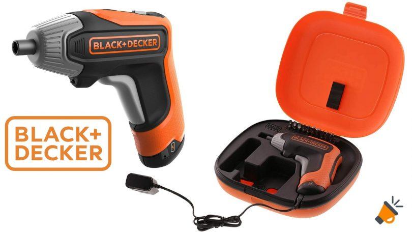 oferta BLACKDECKER BCF611CK aotrnillador barato SuperChollos