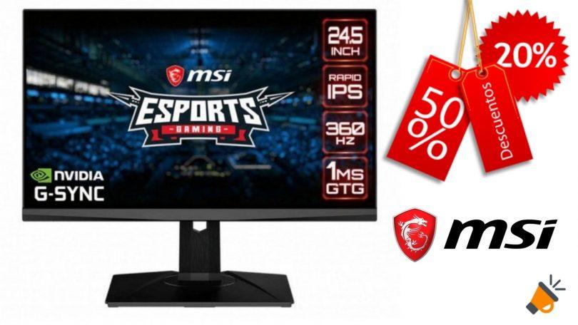 oferta MSI Oculus NXG253R barato SuperChollos