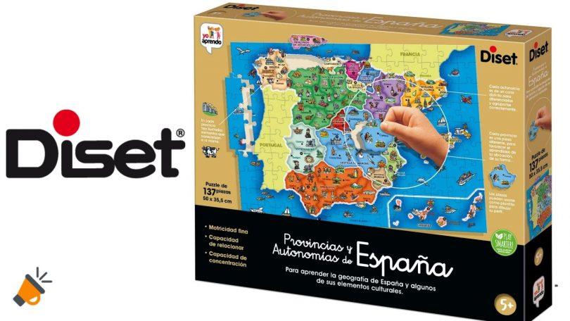 oferta diset puzle provincias autonomias espana barato SuperChollos