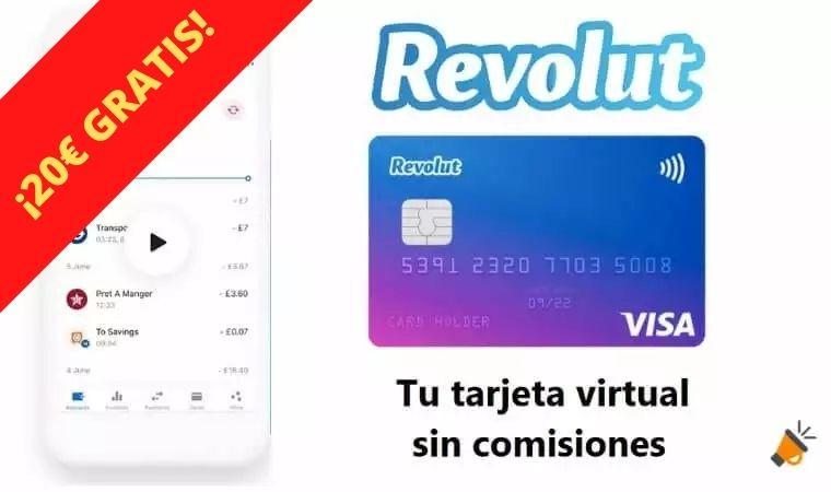 tarjeta revolut 20 euros gratis promo superchollos SuperChollos