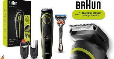 oferta Braun BT3241 Recortadora de Barba barata SuperChollos