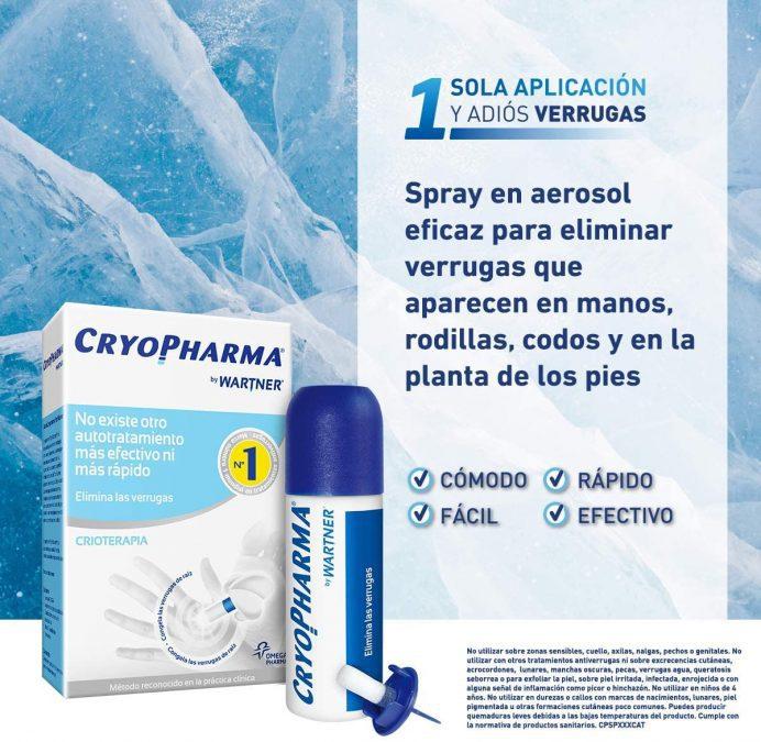 Tratamiento Anti Verrugas Cryopharma barato SuperChollos