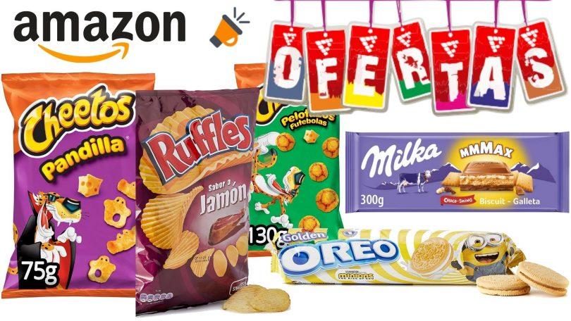 ofertas snacks amazon SuperChollos