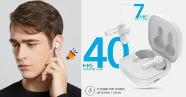 oferta Auriculares bluetooth QCY T13 baratos SuperChollos