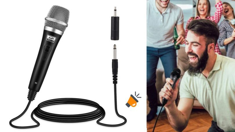 oferta Micro%CC%81fono karaoke Moukey barato SuperChollos