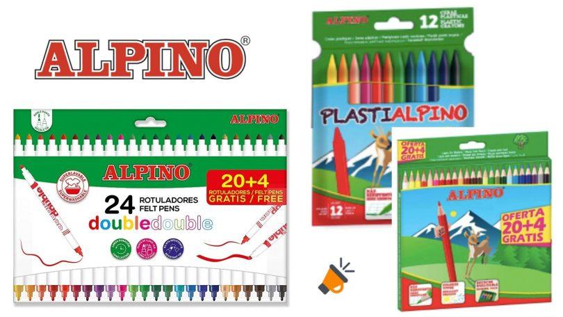 oferta Lote escolar Alpino barato barato SuperChollos