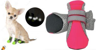 oferta Zapatos reflectantes impermeables mascota baratos 1 SuperChollos