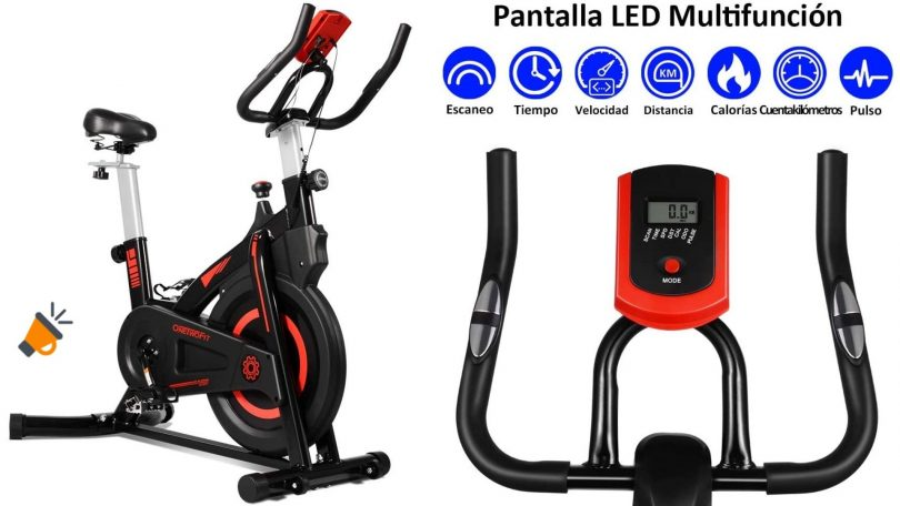 oferta bicicleta spinning OneTwoFit OT212 barata 2 SuperChollos