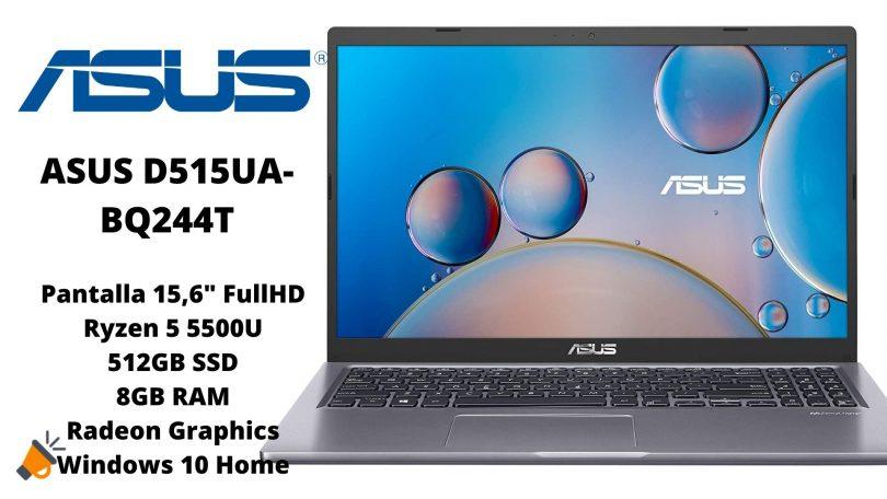 oferta Asus VivoBook D515UA barato SuperChollos