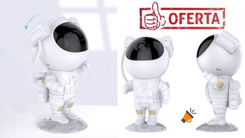 oferta la%CC%81mpara proyector astronauta de Whatook barata SuperChollos