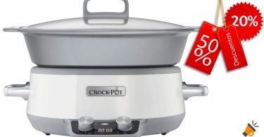 oferta Crock Pot Duraceramic CSC027X barato SuperChollos