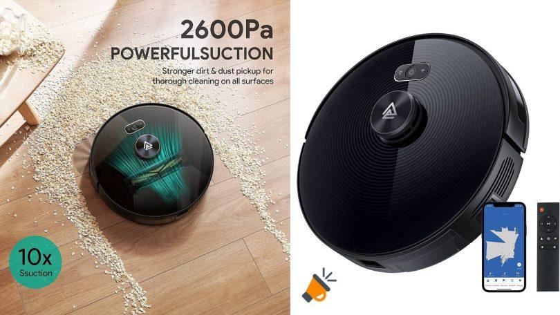 oferta Robot Aspirador Aukey LDS 01 barato SuperChollos