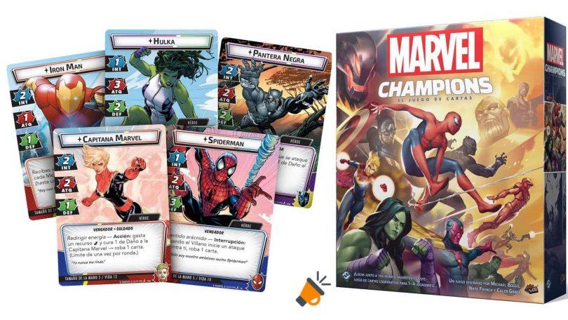 oferta marvel champions el juego de cartas barato SuperChollos