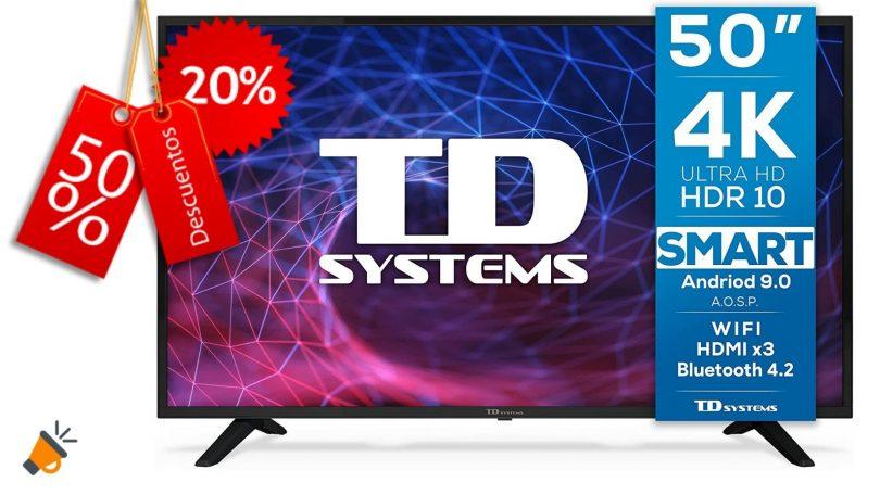 oferta TD Systems K50DLJ11US barata SuperChollos
