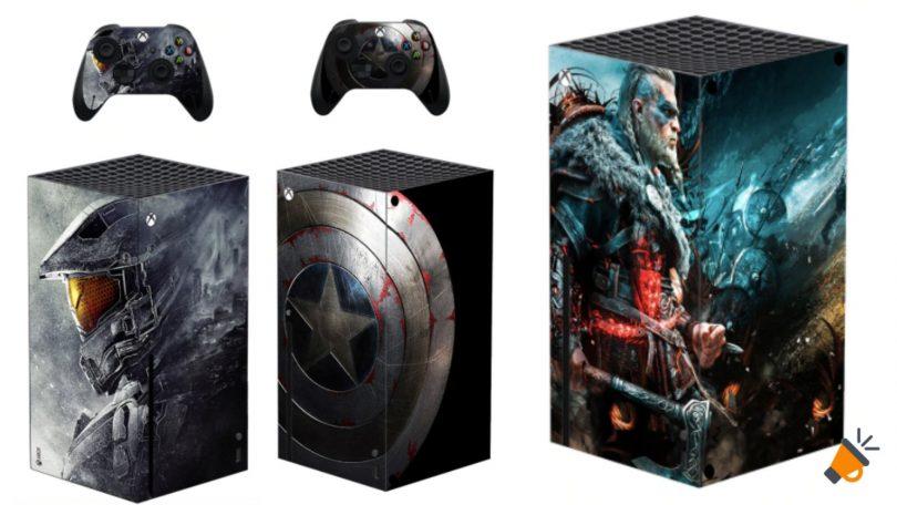 oferta Vinilos Xbox Series X baratos SuperChollos