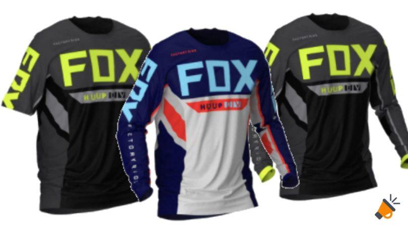 oferta huup fox camiseta ciclismo baratasc%CC%A7 SuperChollos