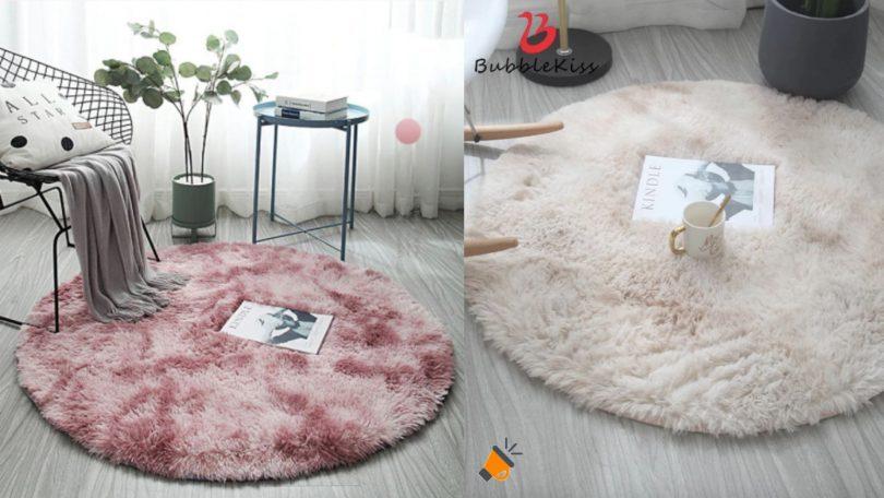 oferta Bubble Kiss alfombra redonda barata SuperChollos