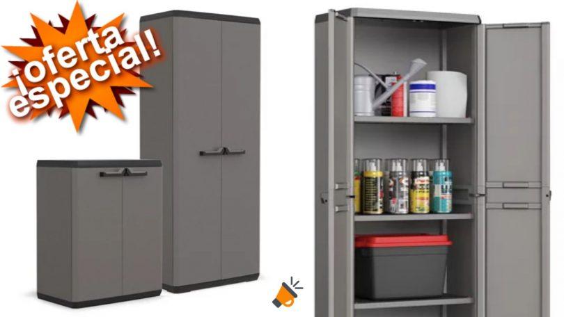 oferta armario resina altobajo barato SuperChollos
