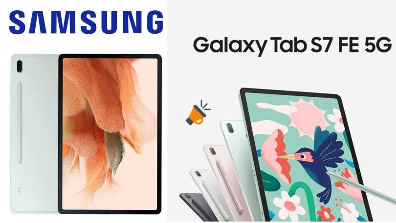 oferta samsung Galaxy Tab S7 FE barato SuperChollos